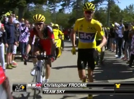 froome running